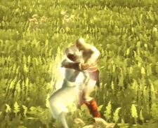 Kratos asesinando a un alma