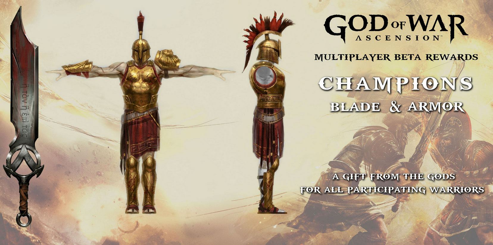 Champion's Blade and Armour | God of War Wiki | FANDOM powered by Wikia
