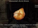 Prisoner's Oath Stone