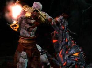Kratos e Hades Cerberus Whelp(1)