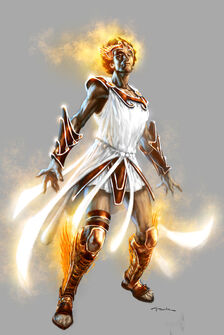 God of war iii hermes by andyparkart