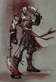 Armadura de Kratos para God of War