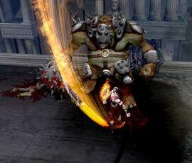Kratos contra el Cíclope Ejecutor 1