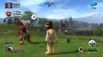 Kratos en Hot Shot Golf 3