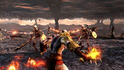 Kratos en las Fosas del Tartaro