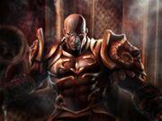 569158-gow2 kratos throne