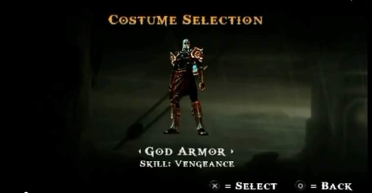 god of war 2 hydra armour