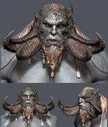 Fire Troll 3D Mugshot 2