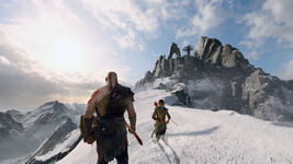 God of War - Screenshot - Gipfel