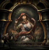 Pintura del Oráculo Alétheia 1