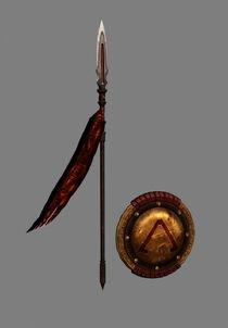 Armas de Esparta - Ghost of Sparta