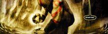 Kratos spreme l'Ambrosia