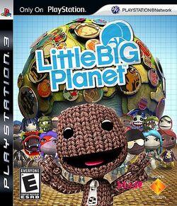 Portada de little big planet
