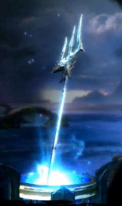 Spear of Poseidon in-game