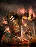 Hades and Kratos