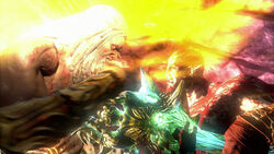 Zeus Kratos Gaia GOW3