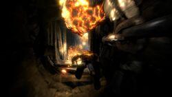 Kratos en las Ventilaciones de Ícaro