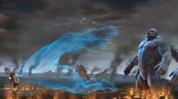 Hades quitandole el alma a Atlas