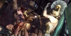 Megera colpisce kratos spezza catene GoW Ascension