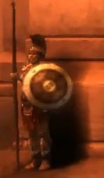 Soldado espartano de Ghost of Sparta