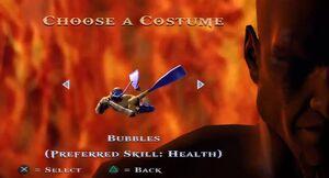 Bubbles costume