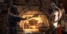 Orkos restituisce tesori perduti kratos