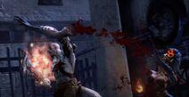Megera perdita braccio kratos GoW Ascension