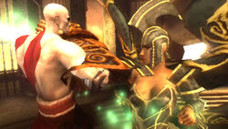 Persefone vs Kratos
