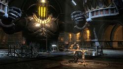 Kratos en el Palacio de Hades