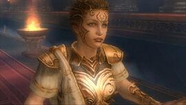 Atenea Diosa de la Guerra.