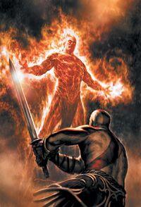Kratos vs Cereyon
