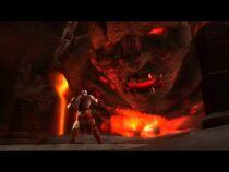 Thera siendo liberada por Kratos