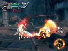Kratos utilizando la furia de los Titanes