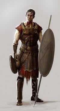 Soldado Espartano de God of War Ascension