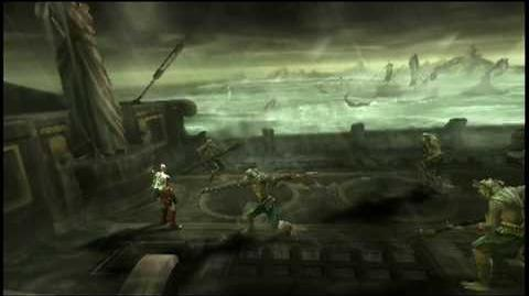 E3 2010 - God of War Ghost of Sparta PSP Gameplay trailer
