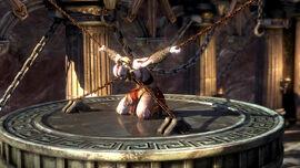 Kratos encadenado - God of War Ascension