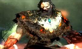 El rey barbaro en God of War II