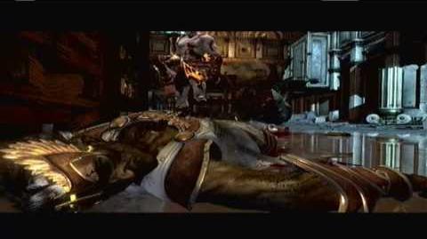 God of War 3 - Hermes death scene