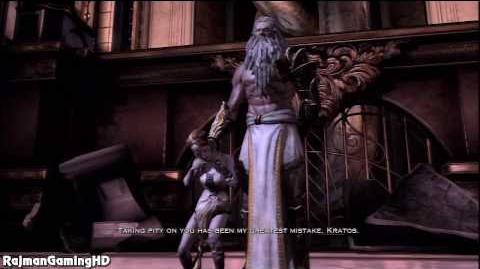 Kratos Vs Zeus God Of War 3