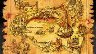 Boceto Mapa de God of War
