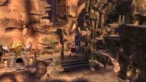 Kratos en los Acantilados de la Locura
