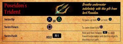 Poseidon's Trident - abilities