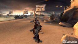 Attica beach god-of-war