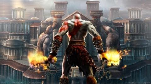 "God of War II ""The Death of Perseus.'"
