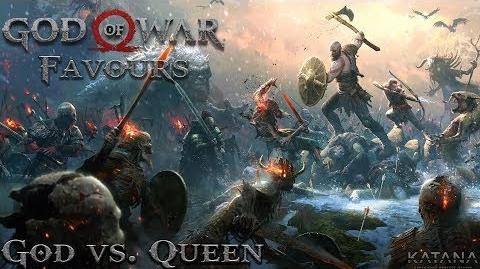 God vs. Queen - Give Me God of War Difficulty - Video Guide-0