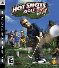 Portada Hot Shots Golf Out Of Bounds