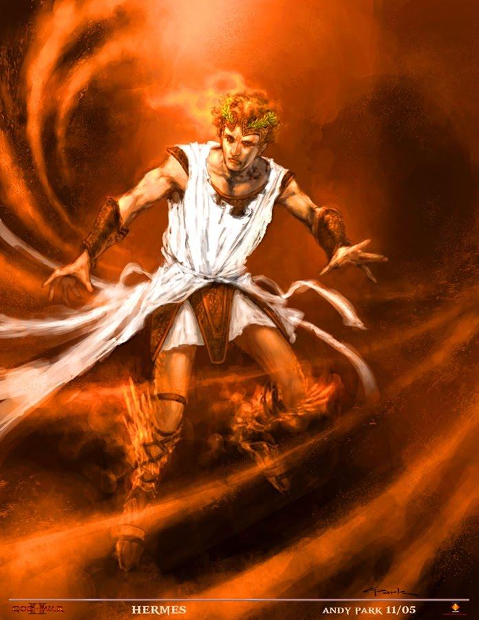 Hermes God Of War Wiki Fandom Powered By Wikia