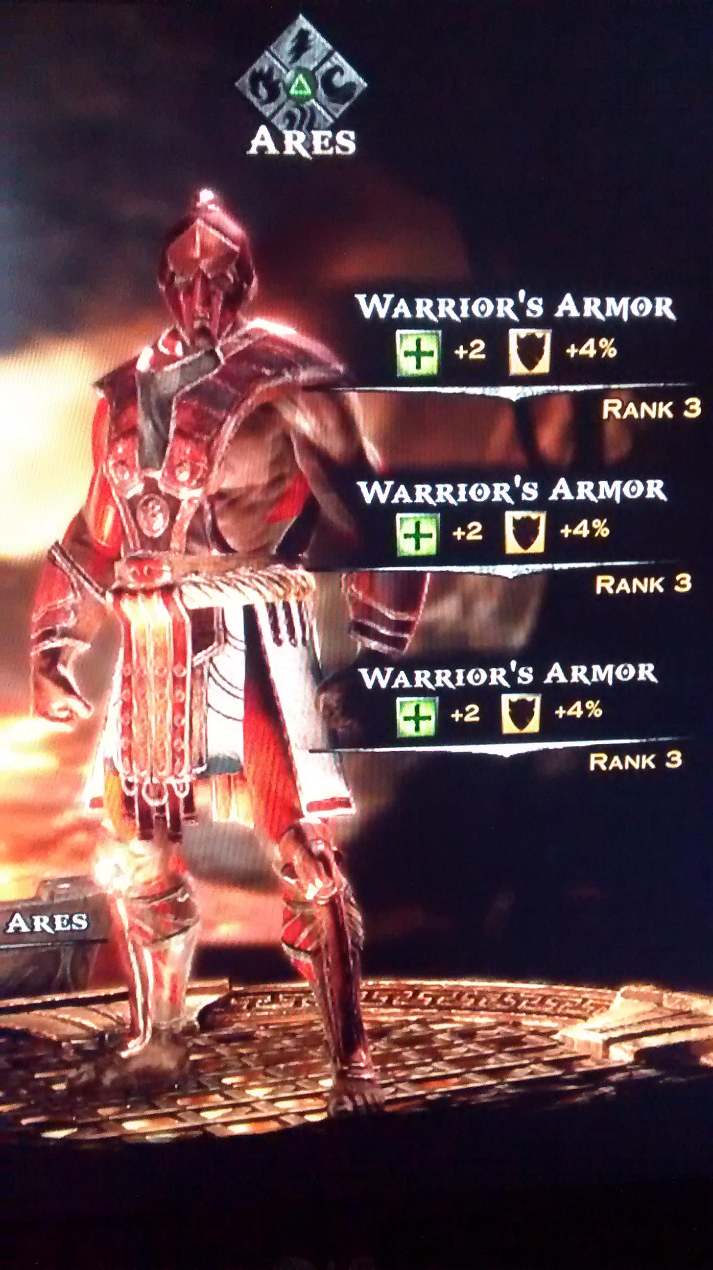 Warrior's Armor   God of War Wiki   FANDOM powered by Wikia