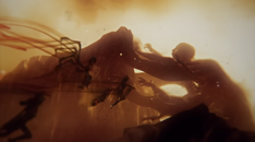 Furie aletto megera tisifone kratos orkos catturati volo verso centimane briareo prigione GoW Ascension