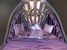 Modelo 3D de la cama de Afrodita